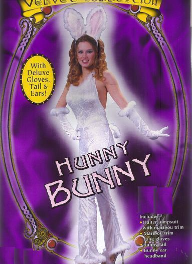 ADULT SEXY VELVET BUNNY COSTUME SZ 2 to 8