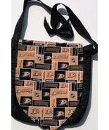 NHL Anaheim Ducks Logo Design Custom Adjustable Strap Messenger Bag - $29.95