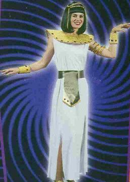 Adult CLEOPATRA COSTUME w/Jeweled Girdle and Collar