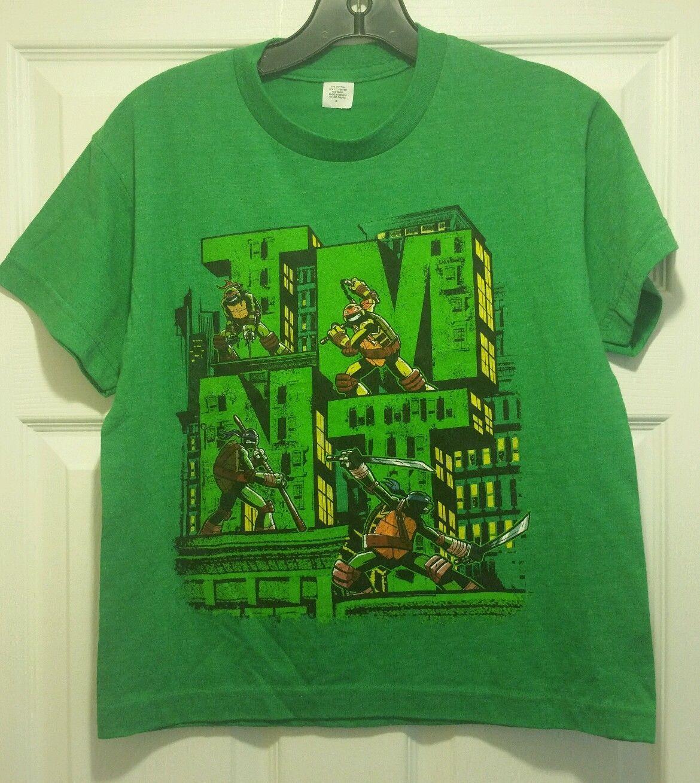 New teenage mutant ninja turtle rooftops tmnt t shirt for Where can i buy ninja turtle shirts