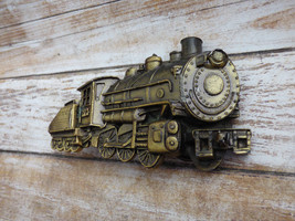 Railroad Train Locomotive Steam Engine Brass Vt... - $19.98