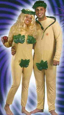 ADAM and EVE COSTUMES 2 FOR THE PRICE OF ONE!
