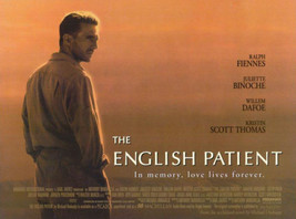 The English Patient Movie Poster 36x24  Ralph Fiennes    Willem Dafoe   ... - $23.00