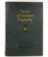 Factors of Economic Geography by Z. Carleton Staples 1928 - $12.99