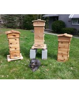 WARRE Bee HIVE with WINDOWS NEW A ҉ KA™ Farm 3Box Cedar Hive *Fully Asse... - $300.00