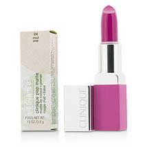 Clinique By Clinique Pop Matte Lip Colour + Primer - # 04 Mod Pop --3.9G/0.13Oz - $32.00