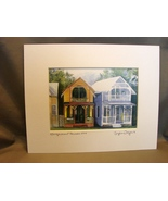 Cape Cod Lovers: Martha's Vineyard Matted Print by Tyler Poyant East Wareham - $10.99