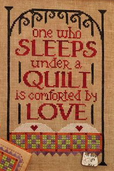 Under A Quilt cross stitch chart Hands On Design