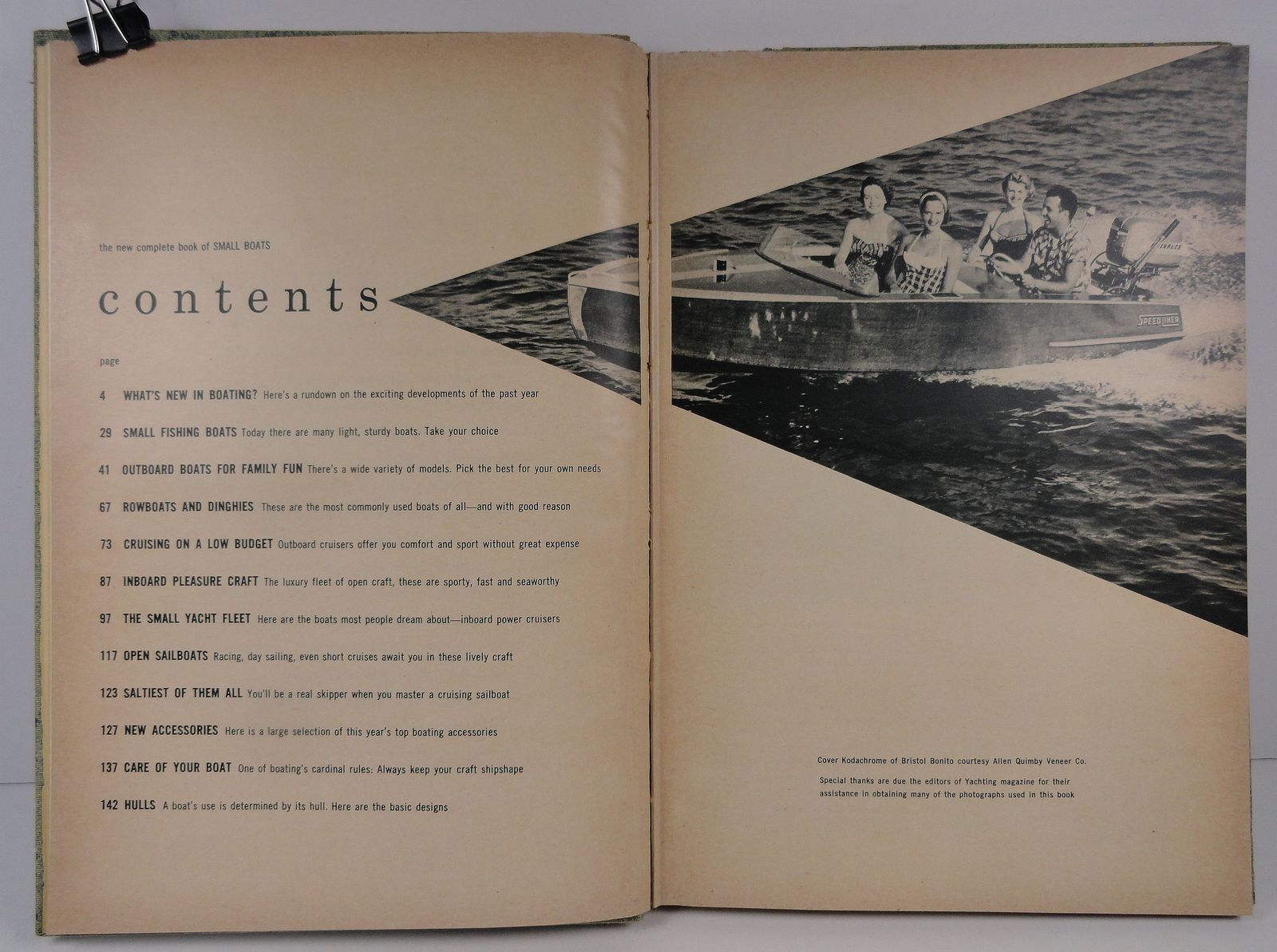The New Complete Book of Small Boats by Lloyd Mallan 1955