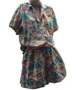 Hawaiian California style Summer Suit Short Shirt True Vintage Retro App... - $29.70