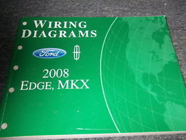 2008 Ford Edge Lincoln MKX Electrical Wiring Diagram Diagrams Manual EWD... - $35.63