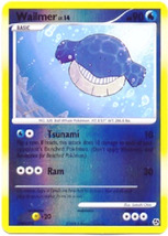 Wailmer 58/106 Reverse Holo Uncommon Great Encounters Pokemon Card - $1.49