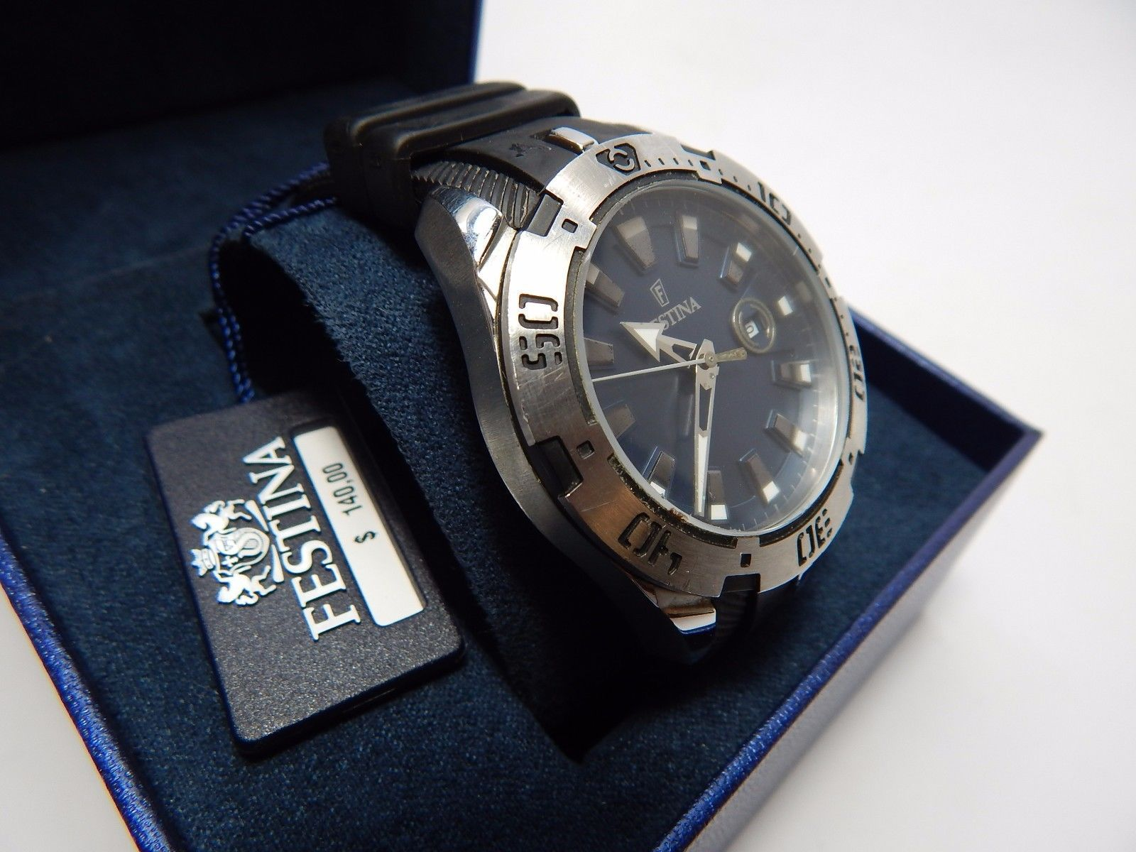 Festina Men's Watch - F16671-2 $140.00 EUC