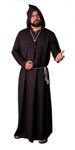 Robe Monk Quality Black  Costume - $37.03