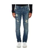 J Brand Mens Bearden Moto 150116E442 Jeans Skinny Destructed Cayce Blue ... - $166.97