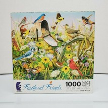 """Ceaco 1000 Piece Jigsaw Puzzle Feathered Friends 27""""X20"""" Ages 13+ Made U... - $16.99"""