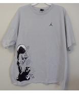 Mens Gray Michael Jordan Short Sleeve T Shirt Size XXL - $24.95