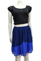 Collective Concepts NWT $78 Blue combo colorblo... - $20.12