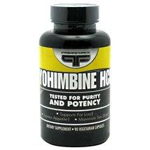 Primaforce Yohimbine HCl - 90 Gelatin Capsules - $15.83