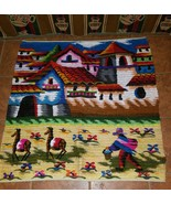 The good Shepherd Wool Handwoven tapestry Wall ... - $135.00