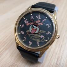Vintage Armitron Tasmanian Devil Men Gold Tone Analog Quartz Watch Hour~... - $18.55