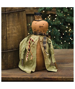 Country IRVING SNOWMAN JACKET DOLL Rustic Primitive Farmhouse Christmas ... - $59.99