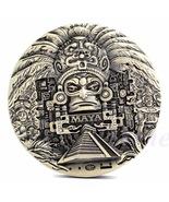 Mayan Aztec Calendar Souvenir Prophecy Commemorative Coin - $18.90