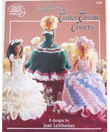 Fashion Doll Toilet Tissue Covers Crochet Patterns  - $11.95