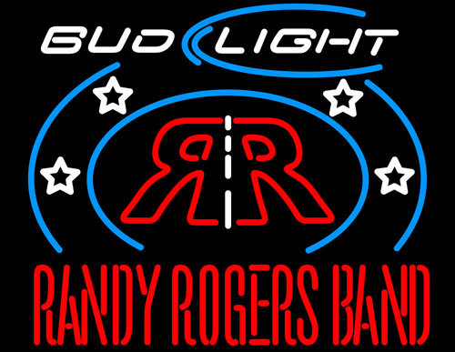 Randy Rogers Bud Light Neon Sign