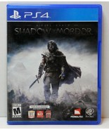 Sony Playstation Middle Earth: Shadow of Mordo... - $9.95