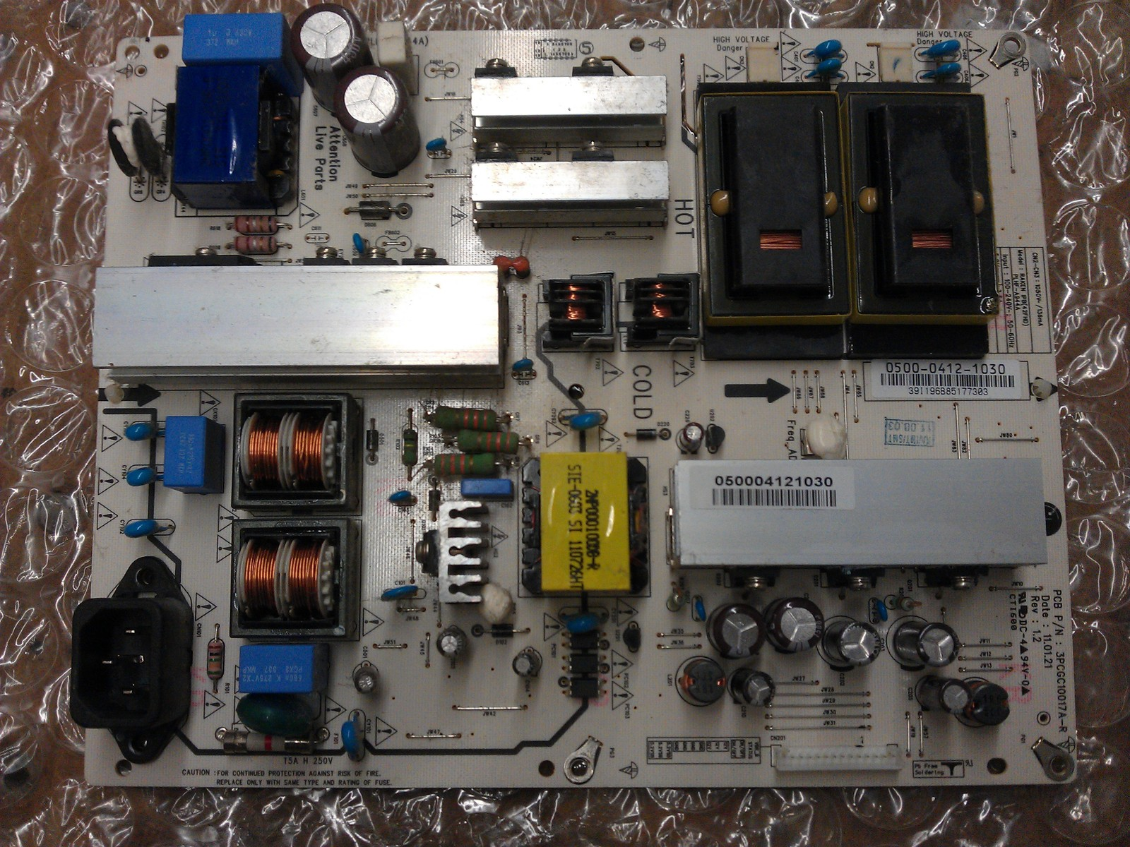 1AV4U20C38800 Power Supply Board From Sanyo DP46819 P46849-00 LCD TV