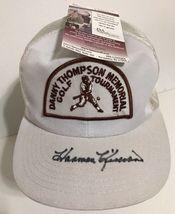 Harmon Killebrew Signed Hat Danny Thompson Golf Tournament Cap JSA COA - $89.00