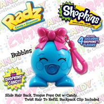 Radz Candy Dispenser, Shopkins Candy, Bubbles, FREE SHIPPING - $7.95