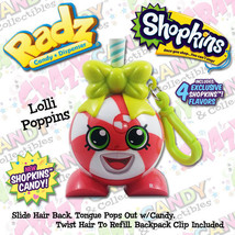 Radz Candy Dispenser, Shopkins Candy, Lolli Poppins, FREE SHIPPING - $7.95