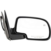 Fits 99-02 Chevrolet GMC Trucks Power Mirror Chrome Man Fold With Ht/Puddle Lamp - $56.95