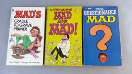 MAD Magazine Paperbacks Vintage 1965 Lot of 3 - $14.84