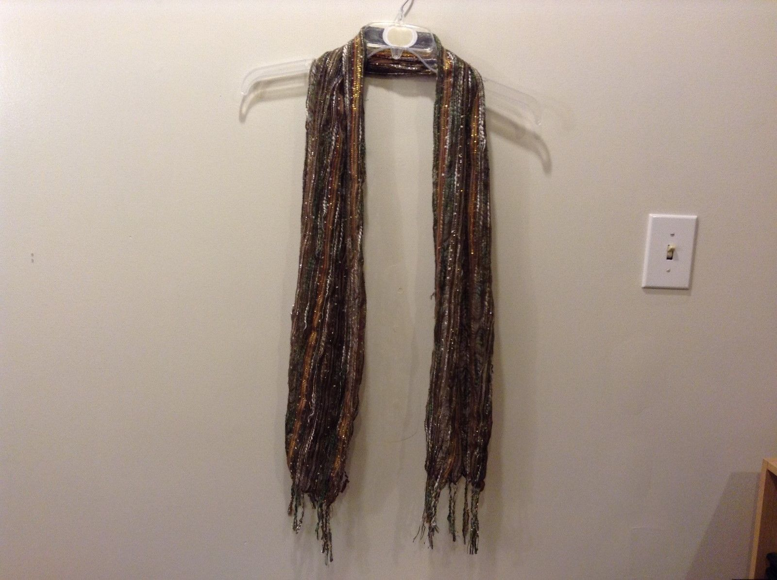 Multi-color Shimmery Fashion Scarf
