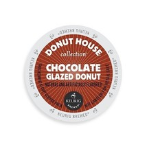 Donut House Collection Coffee, Chocolate Glazed Donut, K-Cup Portion Cou... - $19.79