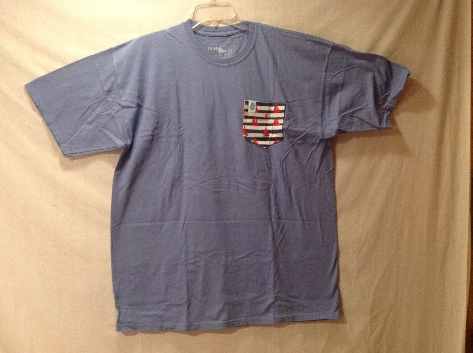 FRIPP FOLLY Slate Blue T-shirt Size XL