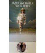 "Aaron Lee Tasjan - Sivler Tears Promo Poster 11""  17"" & Metaliic Sticker... - $14.95"