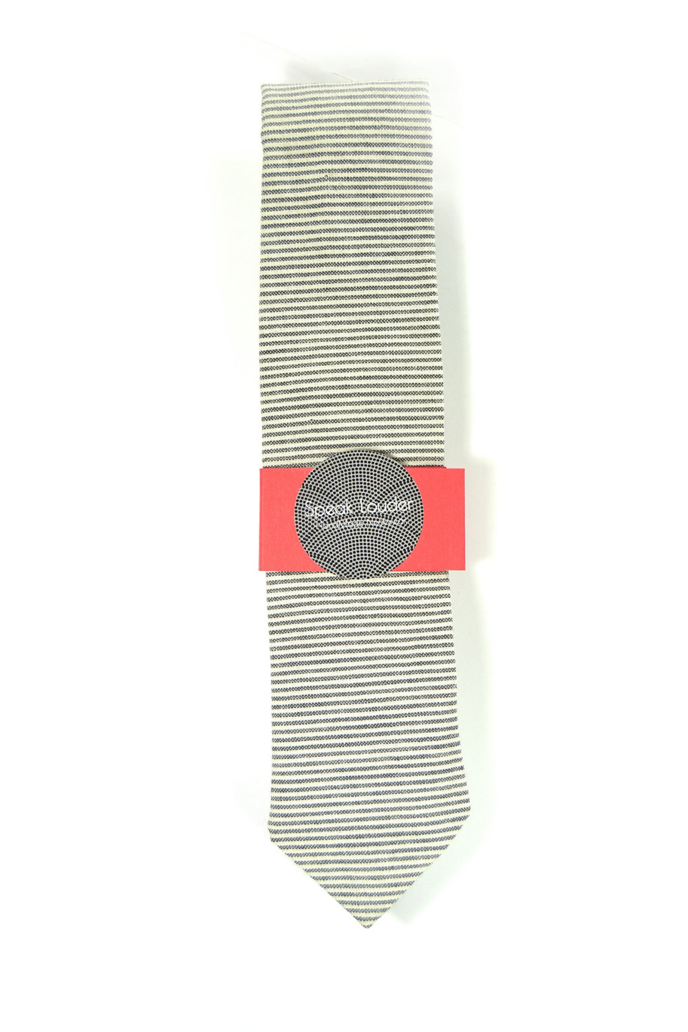Wedding Mens Skinny Necktie- striped black  ivory Chambray- Laid-Back necktie