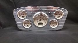 1933 1934 FORD CAR GAUGE CLUSTER TAN - $238.08