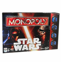 Monopoly Star Wars Disney Board Game Edition The Force Awakens 2015 Hasb... - $29.95