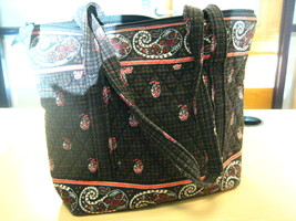 Vera Bradley Tote in Hounds Tooth Brown - $25.00