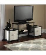 Entertainment Center TV Stand Media Storage Shelves Organizer Flat Furni... - $34.99+
