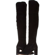 Loeffler Randall Brett Over-The-Knee Boots 903, Black, 6.5 US - $213.11