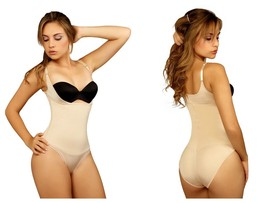 Fajas Reductoras Colombianas Firm Control Bodysuit with Bikini or Thong ... - $54.00