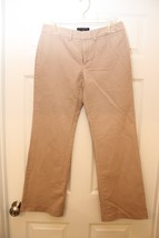Banana Republic Martin Fit Women's Dress Pants Size 4S Tan  - $17.32