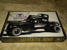 Aerosmith pump cassette tape old school  - $8.59