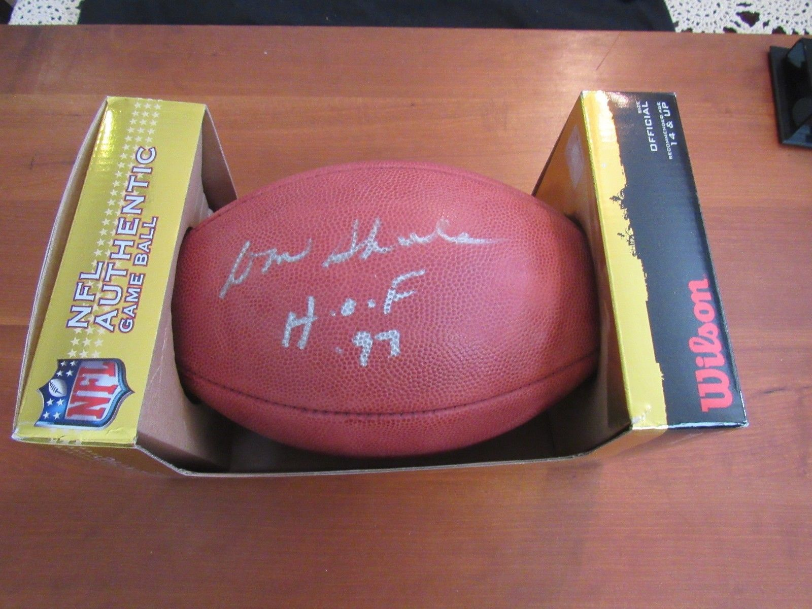 Primary image for DON SHULA HOF 97 MIAMI DOLPHINS SIGNED AUTO DUKE NFL FOOTBALL SHULA COA
